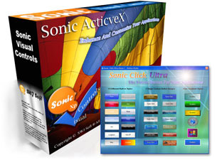 Sonic Click Pro Button ActiveX Control