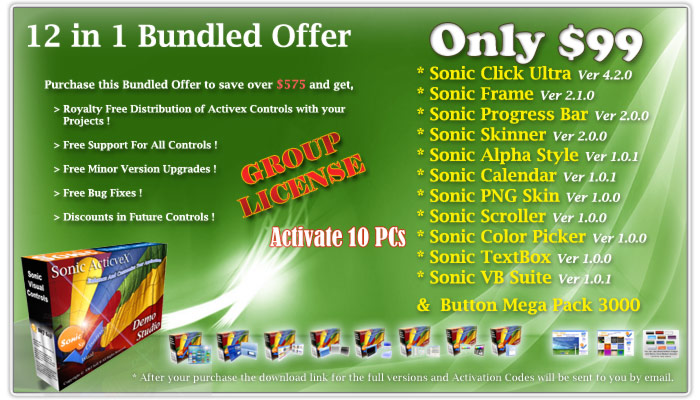 12 in 1 Sonic Suite Bundle Group Edition screenshot